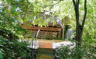 boring to upcycled beautiful back yard steps, gardening, outdoor living, stairs, The Completed Project