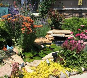Small Garden Pond Paradise, Diy, Gardening, Ponds Water Features