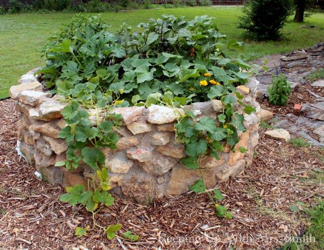 Building a Keyhole Garden   Hometalk