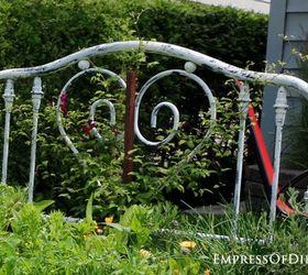 Repurposed Bed Frame To Garden Bed, Flowers, Gardening, Raised Garden Beds,  Repurposing