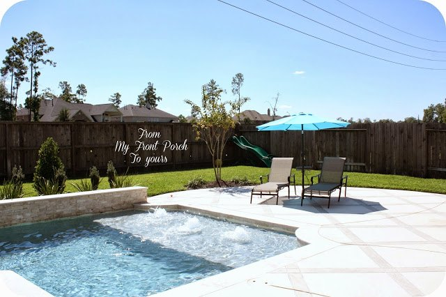 backyard transformation, landscape, outdoor living, pool designs