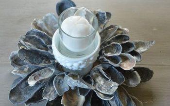 DIY Tutorial:  Create An Oyster Shell Centerpiece
