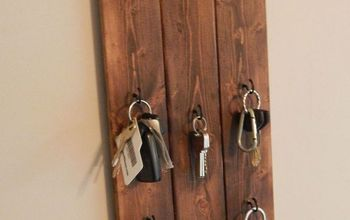 DIY Hanging Key Holder