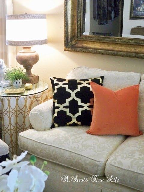 how to add a zipper customize a thrifted pillow hometalk