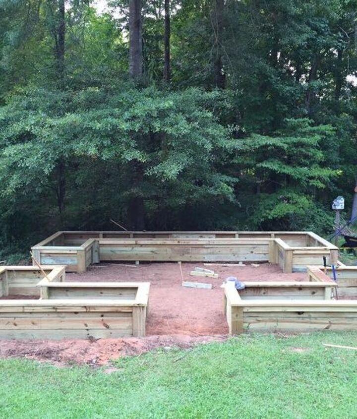 diy georgia raised garden, gardening, how to, raised garden beds, woodworking projects