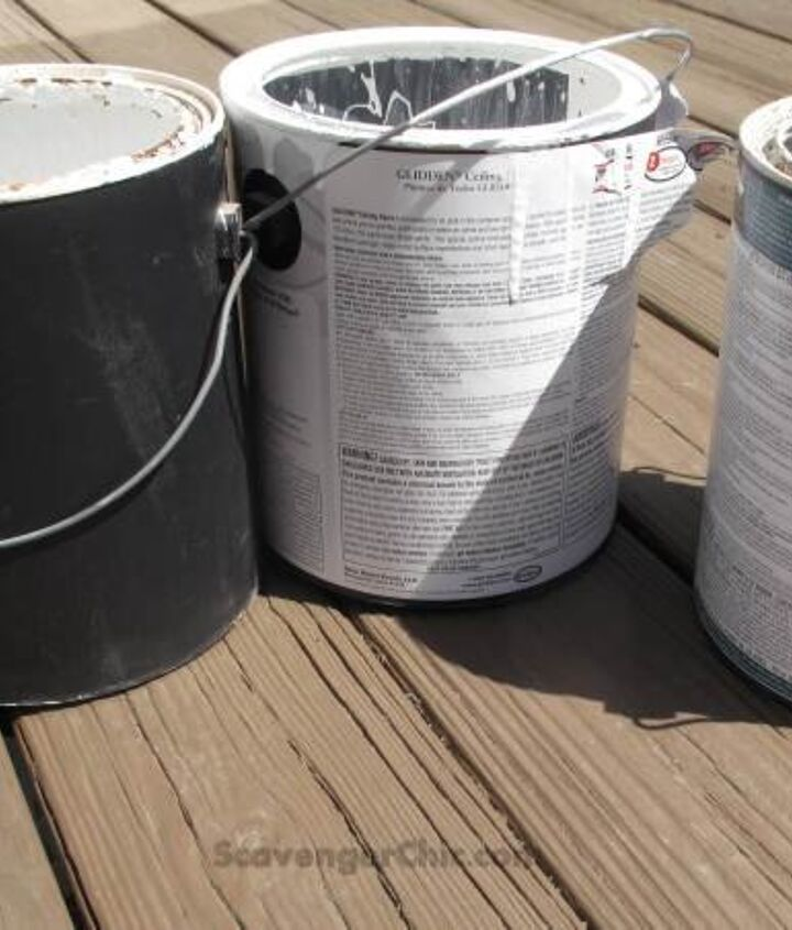 2 great ways to upcycle old paint cans, container gardening, crafts, gardening, how to, repurposing upcycling, storage ideas