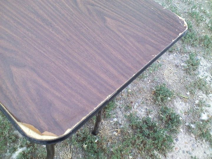 Refinish A Fold Up Table