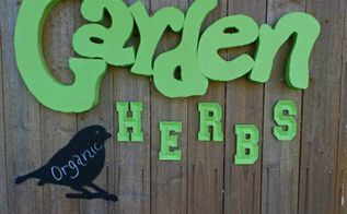 message signs for garden decor, crafts, gardening, repurposing upcycling