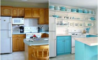 these kitchen cabinets will convince your husband to let you paint, home improvement, kitchen cabinets, kitchen design, Project via Tanya Dans le Lakehouse