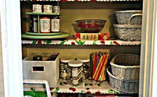 pantry organizing for cheap, closet, organizing, repurposing upcycling