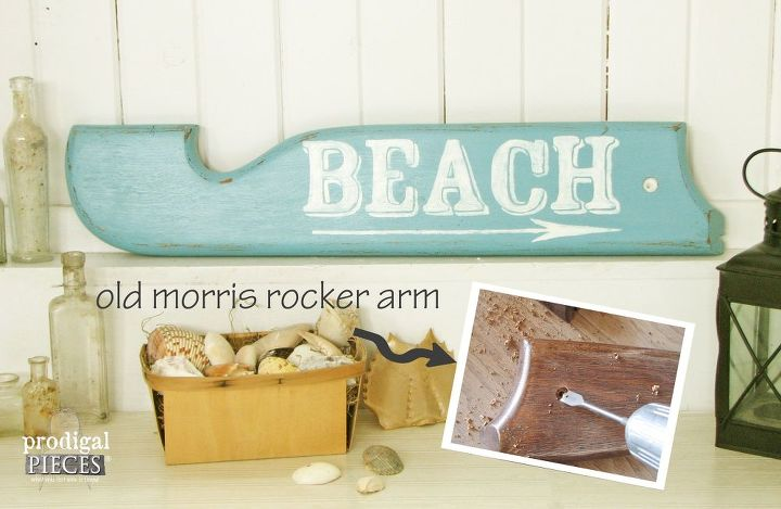 if you can t get to the beach then bring the beach to you, painted furniture