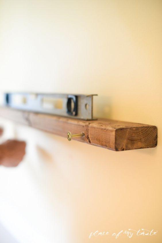 DIY Deep Picture Ledge Inspired by West Elm | Hometalk