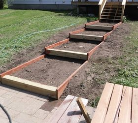 How To Build Steps On A Slope, Landscape, Outdoor Living, Patio, Stairs