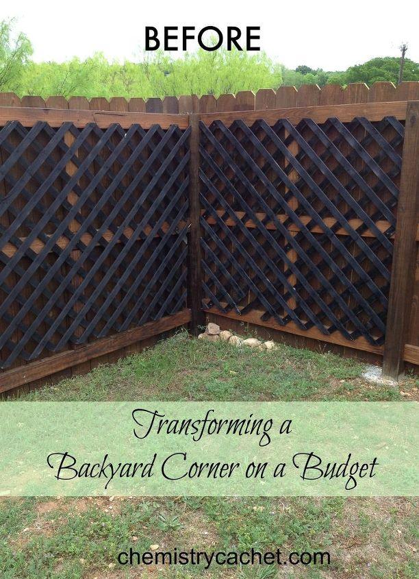 corner gardening transform an ugly corner into a cute garden for cheap hometalk