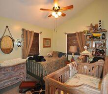 rustic outdoorsy boys nursery, bedroom ideas, painted furniture, repurposing upcycling, rustic furniture