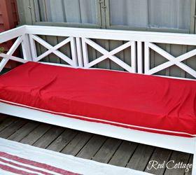 Diy Outdoor Sofa. Diy Outdoor Sofa, Furniture, Living, Painted Repurposing  Upcycling Sofa