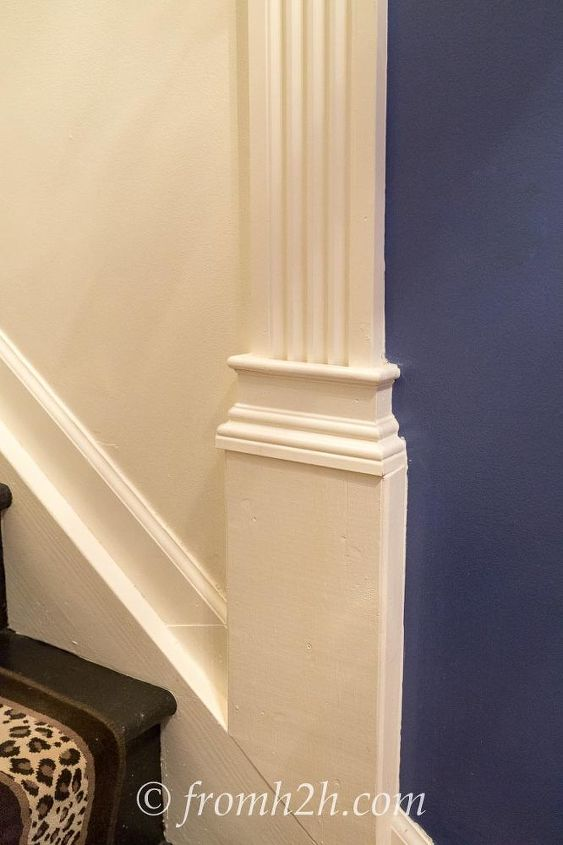 How to Add Interest to a Tall, Narrow Stairway   Hometalk