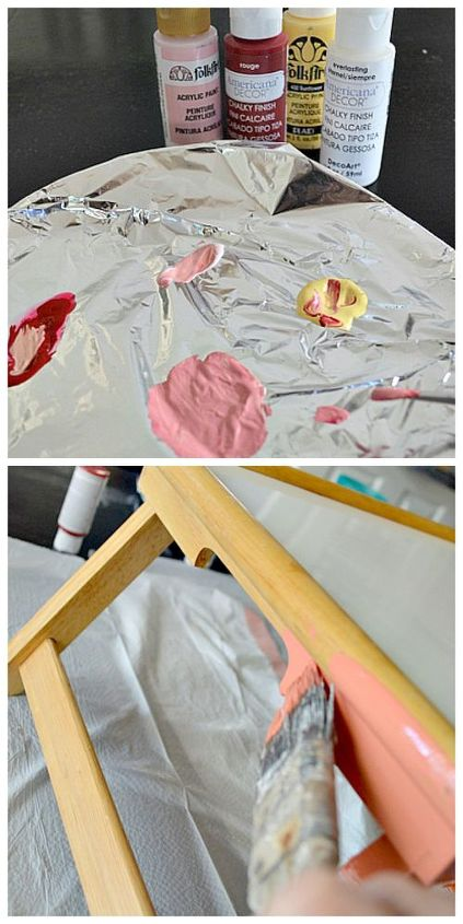 turn an ugly tv tray into a cheeseboard, chalkboard paint, crafts, repurposing upcycling