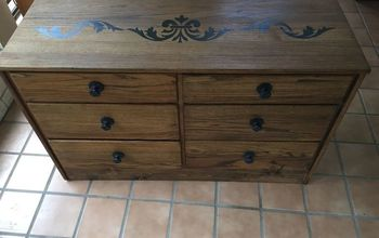 Turn an UGLY $10 Goodwill Dresser Into a Treasured Piece! Very EASY!