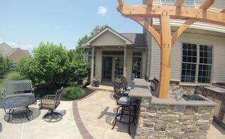 poolside kitchen entertaining area, kitchen design, outdoor living, pool designs