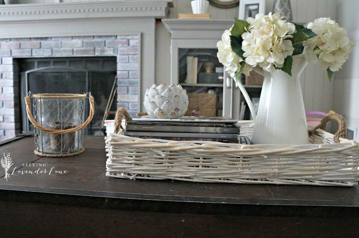from 1985 to cottage chic family room, fireplaces mantels, living room ideas, paint colors, painted furniture