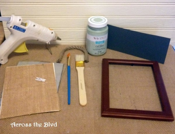 diy open frames, chalk paint, crafts, how to, wall decor