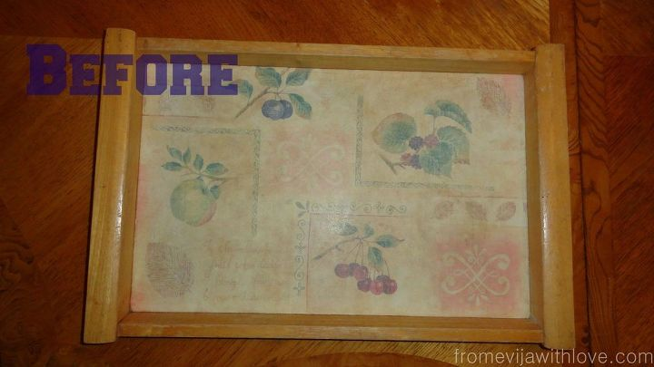 diy mosaic tile tray, crafts, how to, repurposing upcycling