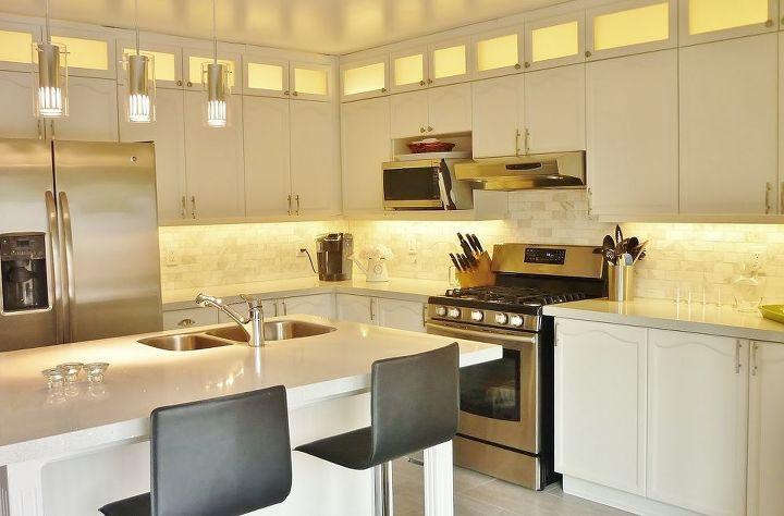 Kitchen transformation countertops home improvement kitchen cabinets kitchen design