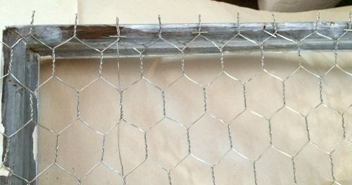 DIY Chicken Wire With A Narrow Frame | Hometalk