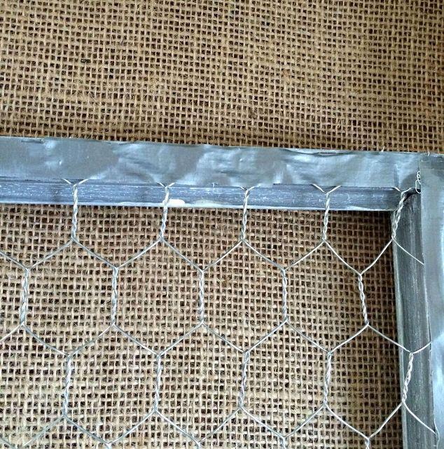 DIY Chicken Wire With A Narrow Frame   Hometalk