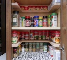 Charmant Diy Spicy Shelf Organizer, Kitchen Cabinets, Organizing, Shelving Ideas