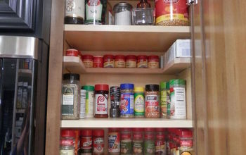 Just Say NO to As Seen On TV Spicy Shelf Organizer..and YES to DIY!!!