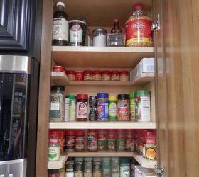 Diy Spicy Shelf Organizer, Kitchen Cabinets, Organizing, Shelving Ideas