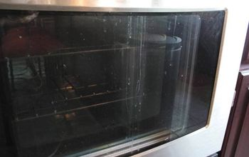 Cleaning Between the Glass on an Oven Door