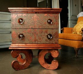 Sweet And Charming Metallic Paint Furniture Projects, Painted Furniture  Modern Masters