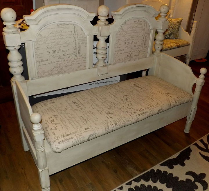 Antique Headboard Bench: This Headboard Bench Idea Is Drop Dead Gorgeous