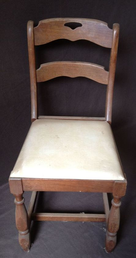 upcycled ugly dining chair into a beautiful victorian piece, painted furniture, repurposing upcycling