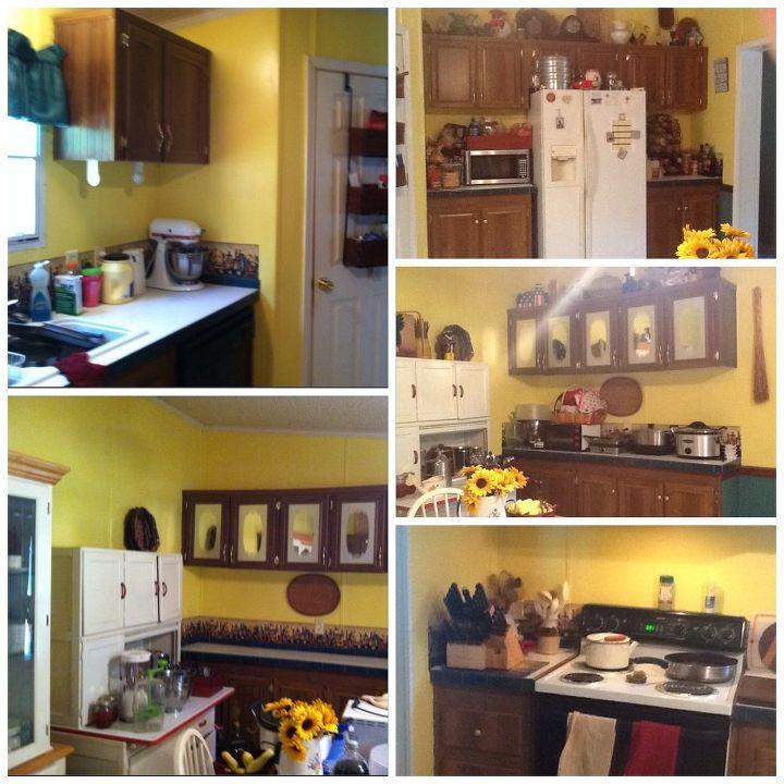 Mobile Home Kitchen Makeover | Hometalk
