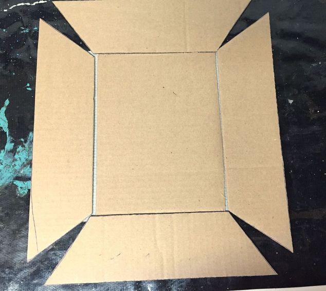 diy easy concrete tray, concrete masonry, crafts, how to