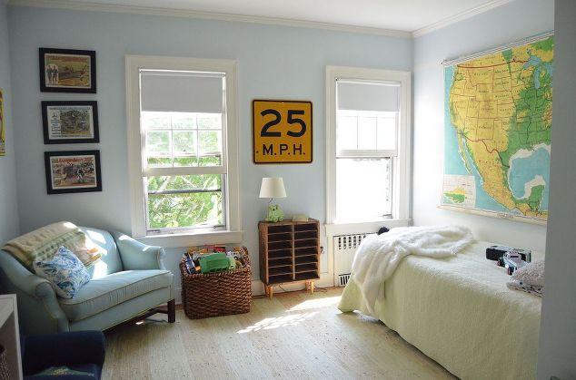 simple boys room decor bedroom ideas painting repurposing upcycling wall decor - Boys Room Decor