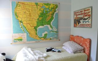 simple boys room decor, bedroom ideas, painting, repurposing upcycling, wall decor