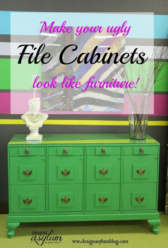 Diy File Cabinet Makeover Painted Furniture Repurposing Upcycling
