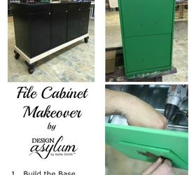 Charming Diy File Cabinet Makeover, Painted Furniture, Repurposing Upcycling