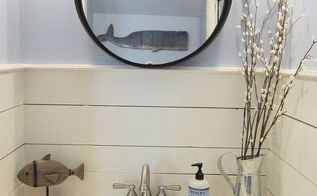 tiny half bath makeover, bathroom ideas, painting, small bathroom ideas