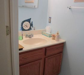 Awesome Tiny Half Bath Makeover, Bathroom Ideas, Painting, Small Bathroom Ideas