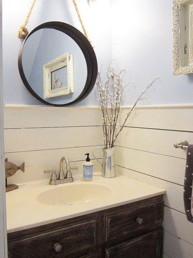 Tiny Half Bath Makeover | Hometalk Tiny Half Bathroom Ideas on tiny living room decorating ideas, tiny backyard ideas, tiny florida room ideas, tiny sun room ideas, tiny den ideas, tiny bathroom renovations, tiny bathroom plans, tiny bathroom makeovers, tiny dining room ideas, half-bathroom color ideas, tiny bathroom designs, tiny bedroom ideas, tiny master bathroom, tiny bathroom cabinets, tiny basement ideas, tiny linen closet ideas, tiny bonus room ideas, tiny pantry ideas, tiny bathroom solutions, tiny mud room ideas,