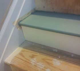 Inexpensive Painted Stairs, Painting, Stairs