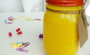 back to school mason jar gift, crafts, mason jars, repurposing upcycling