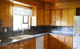 diy concrete counters over existing laminate, concrete masonry, countertops, diy, how to, kitchen design