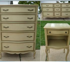 Q Time It Takes To Paint A French Provincial Furniture Set, Painted  Furniture